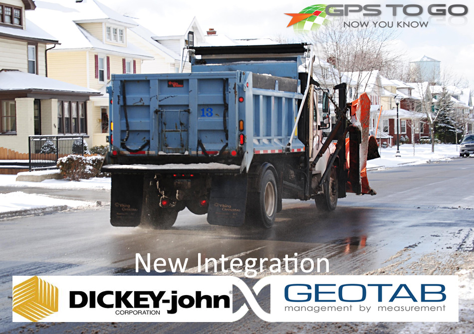 Snow Plow Dickey John Tracking