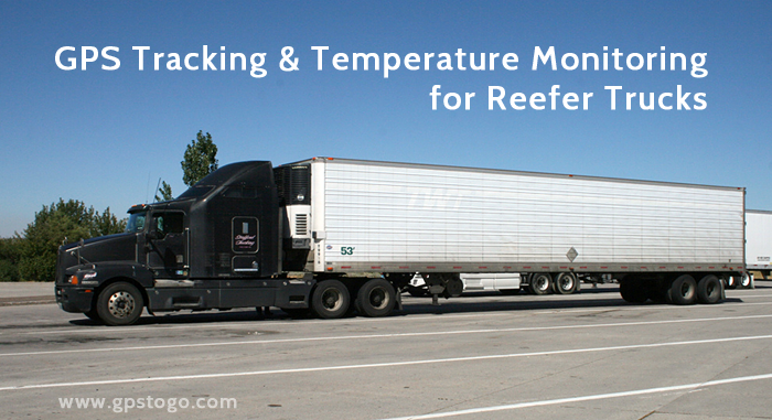 Truck Temperature Monitoring GPS
