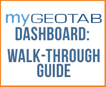 Guide for the MyGeotab Dashboard