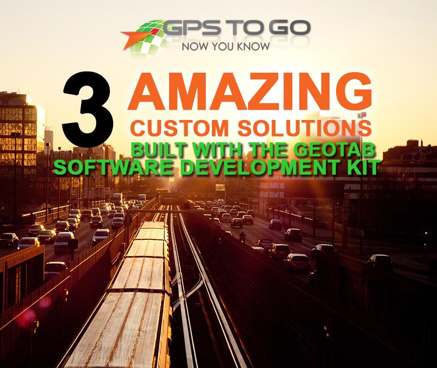 Geotab SDK Integration - custom fleet tracking solutions