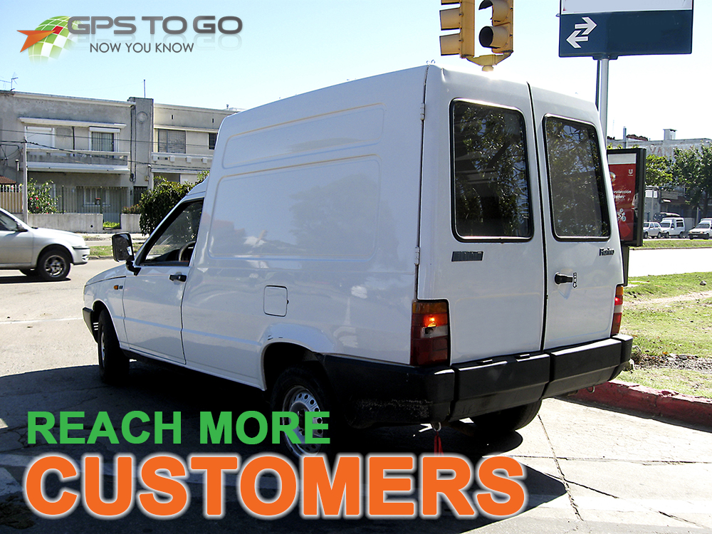 Reach More Customers with GPS Vehicle Tracking