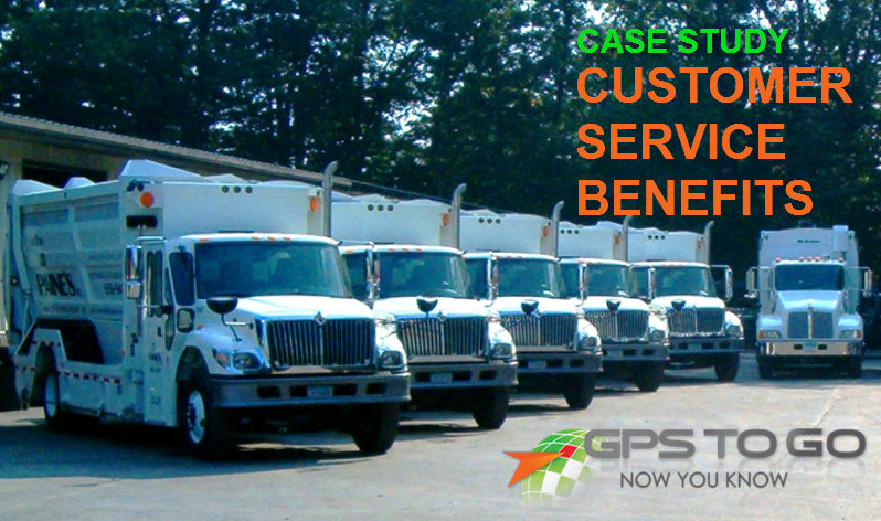 customer service benefits of GPS