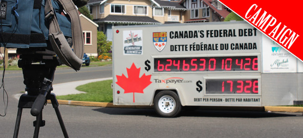 Canadian National Debt Clock