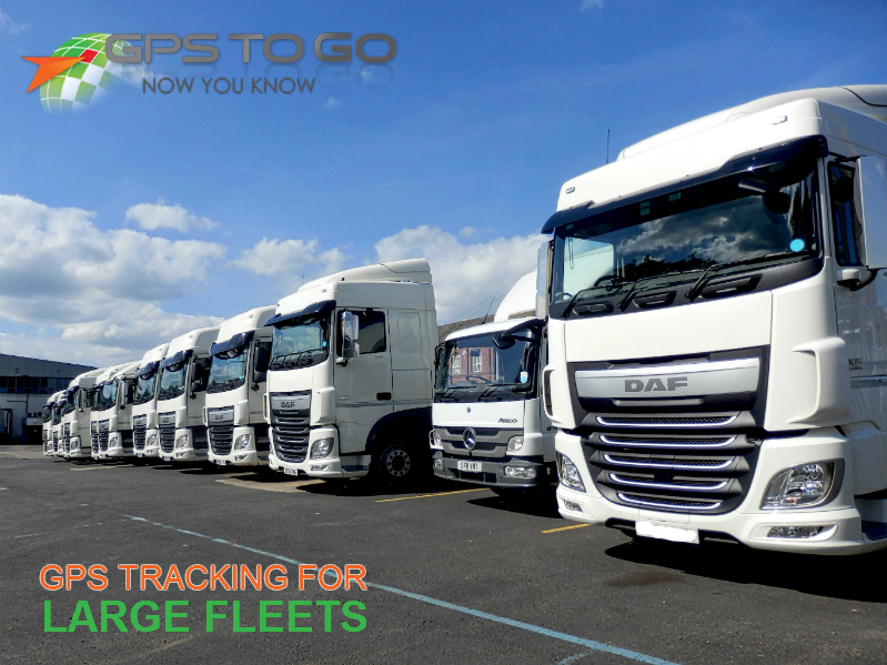gps tracking for large fleets